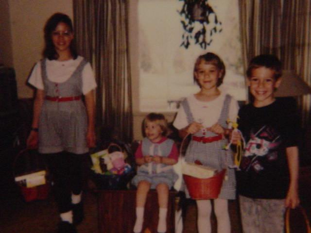 Tarina, Valery, Jeaneen and Randy July 7, 1992