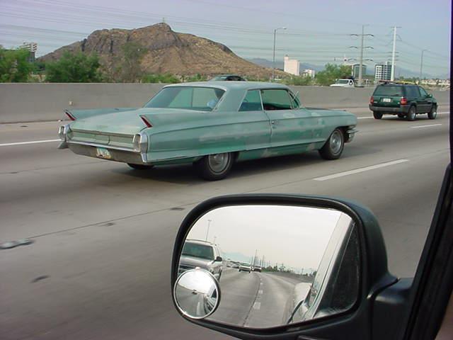 1962 Cadillac 2 door sed.