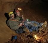 old cavers at rest