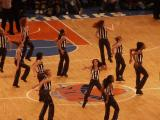 Dancers At The Knicks Game