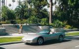 Corvette In Beverly Hills