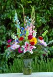24th Anniversary Flowers