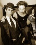 Brian Viglione and Amanda Palmer of the Dresden Dolls