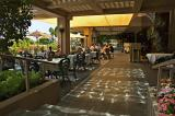 Outdoor dining at the Phoenician