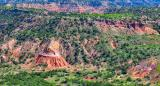 Palo Duro Canyon From Scenic Overlook