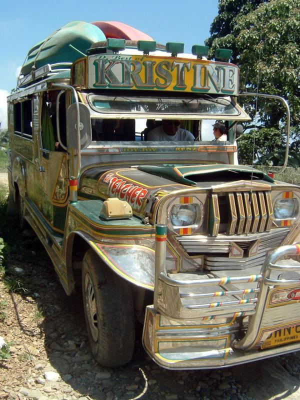 Our Jeepney for the Day