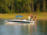 Carol, Paul and Catherine enjoying the lake