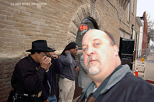 THE CHICAGO  BLUES HARMONICA PROJECT PHOTO SHOOT 2005