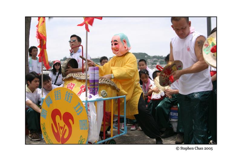 The Little Buddha On Drum