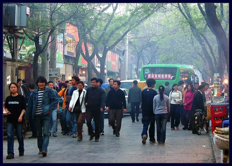 Strolling along Beiyuanmen