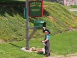 Amish Kid Checking Mail