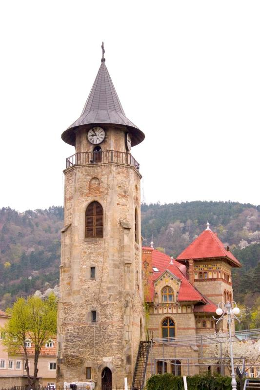 Old tower in Piatra Neamt