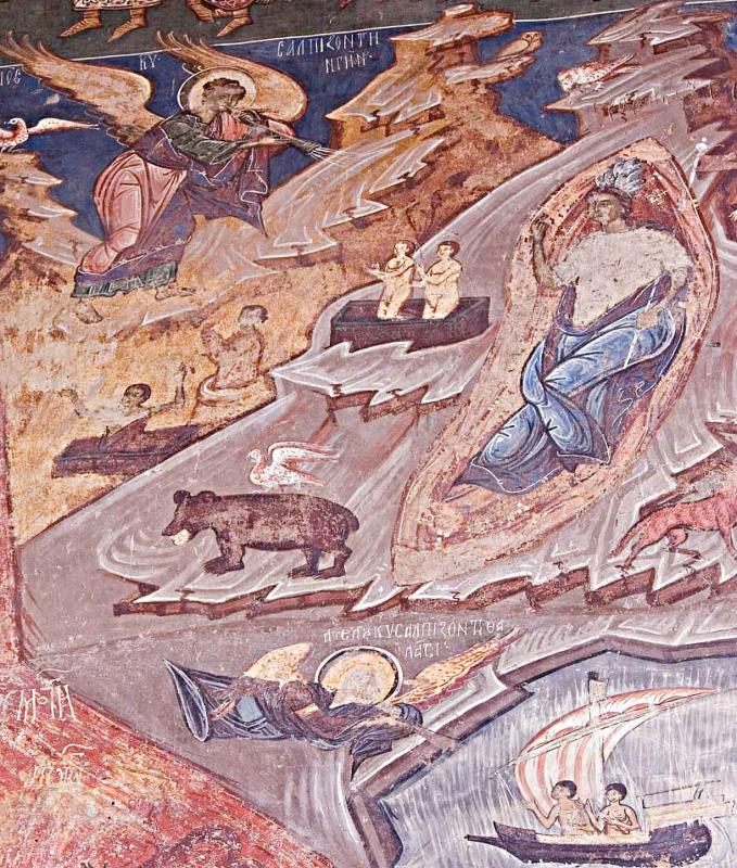 Fresco with Bear
