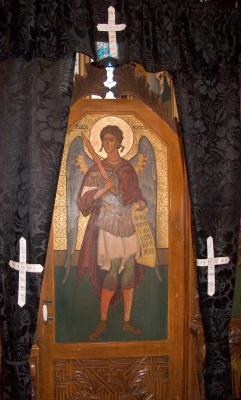 Icon in Vama Church