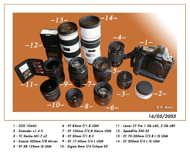 photographic gear