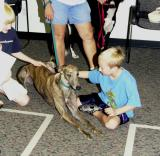 Greyhound meet and greet in Milwood