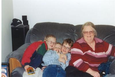 Penny and grand kids