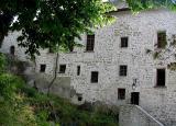 Mur arrière, chateau de Clermont