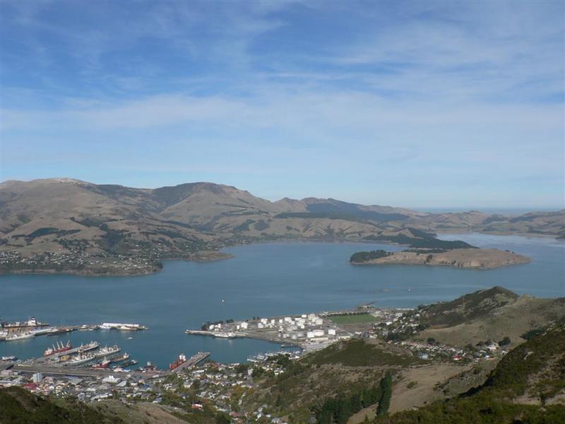 Lyttelton, the port of Christchurch