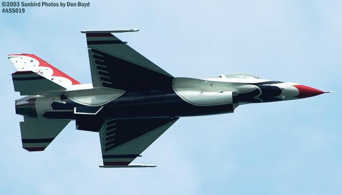 USAF Thunderbird military aviation air show stock photo #4383