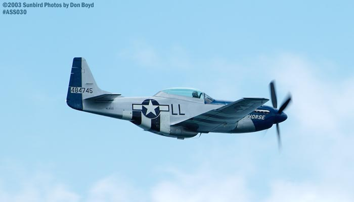 P-51D Crazy Horse N851D military warbird stock photo #4218