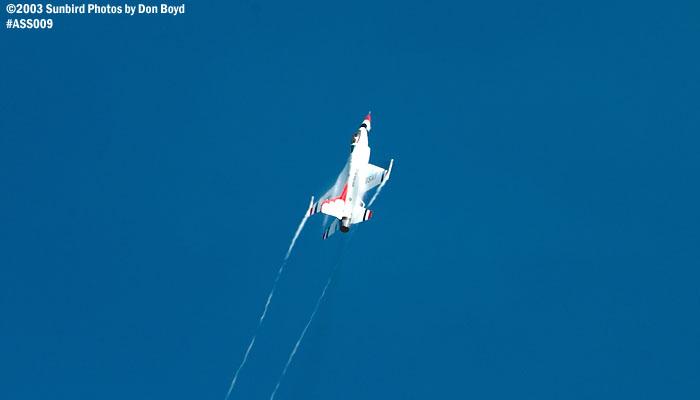 USAF Thunderbird military aviation air show stock photo #4365