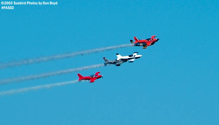 Warbird formation stock photo military aviation air show stock photo #4087