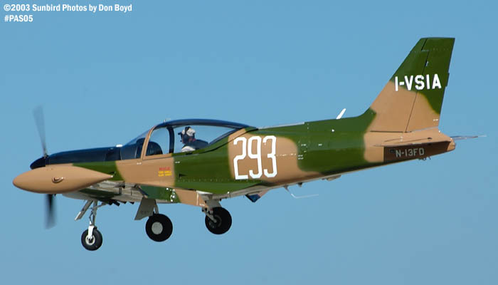 Ronald Keilins SIAI-Marchetti SF360 N13FD aviation warbird stock photo #4091