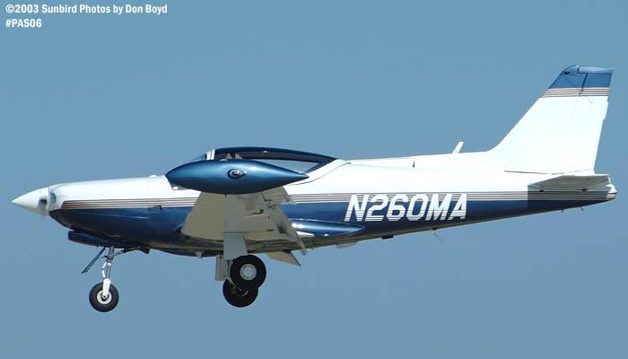 David R. Cummings SIAI-Marchetti SF260 N260MA aviation stock photo #4092