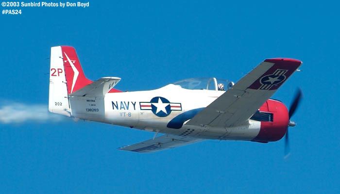 Earl L. Walshs North American T-28B N63NA aviation warbird stock photo #4114