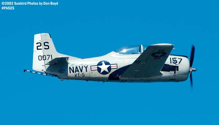 T-28B aviation warbird stock photo #4115