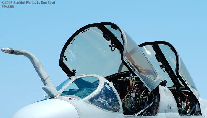 USN EA-6B Prowler military aviation air show stock photo #4175