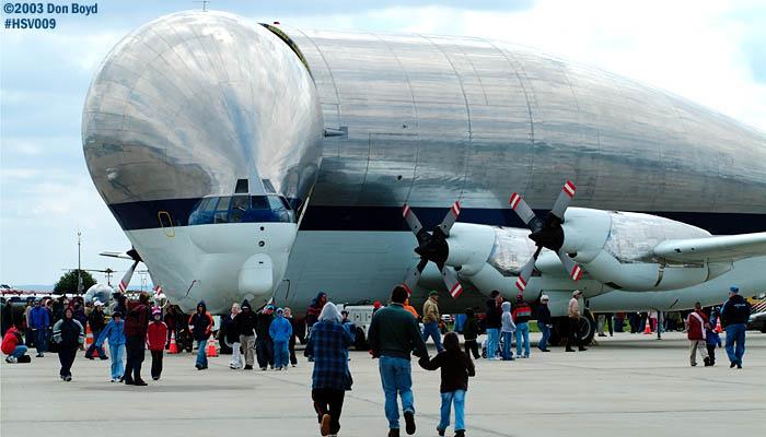 NASA Aerospacelines 377SGT-201F Super Guppy N941NA aviation air show stock photo #3683
