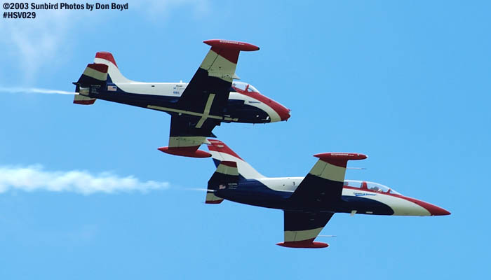 Czech 6s Aero Vodochody L-39 N6380L and Walker J. Hesters BAC-167 Strikemaster N799PS stock photo #3710