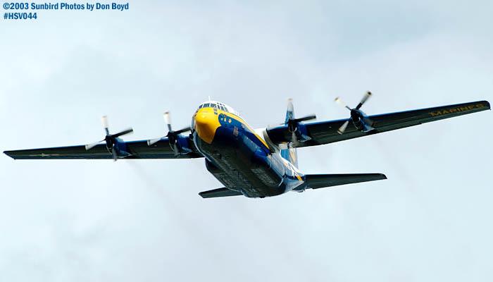 U.S. Marine Corps Blue Angels Fat Albert (New Bert) C-130T #164763 military aviation stock photo #3730.jpg