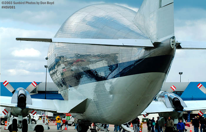 NASA Aerospacelines 377SGT-201F Super Guppy N941NA aviation air show stock photo #3774