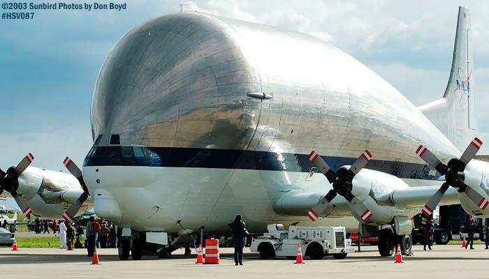 NASA Aerospacelines 377SGT-201F Super Guppy N941NA aviation air show stock photo #3786
