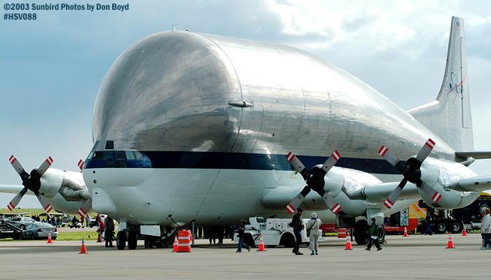 NASA Aerospacelines 377SGT-201F Super Guppy N941NA aviation air show stock photo #3787