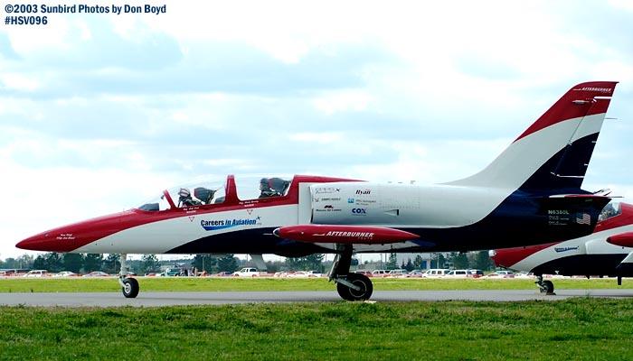 Czech 6s Aero Vodochody L-39 N6380L aviation air show stock photo #3798