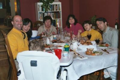 Mom's 70th Birthday April 2003