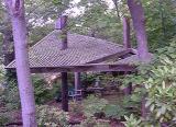 Gazebo or lath house—whatever it is, it is neat.