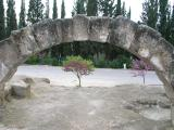 Arch of the ancient synagogue