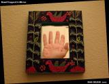 Hand Trapped In Mirror