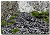 Cascading Shale Rock