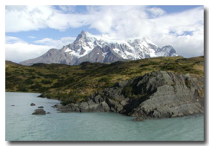 Water, Land, Mountain, Sky