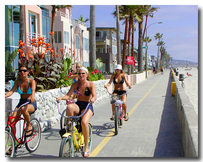 Mission Beach Bikers