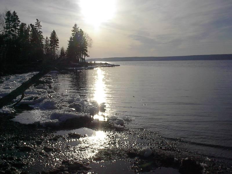 Shoreline - Big Pond  ~ Cape Breton Island