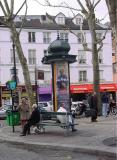 Montmartre street scene