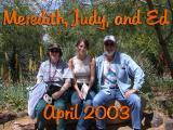 Meredith Visits Ed and Judy, April 2003