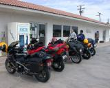 Gas stop at Wheelie's